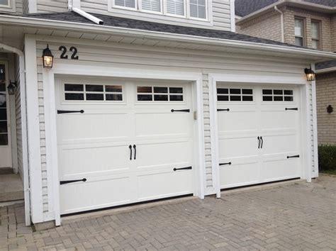 Standard Garage Door Widths Standard Garage Door Size With Carriage Style Garage Design Ideas Garage