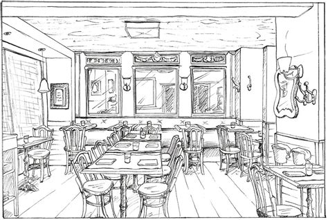 Drawing Dining Room Designs by Interior Drawings Foster Cranz Archinect