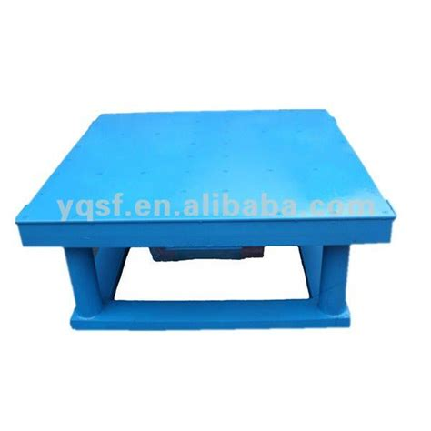 electric concrete vibrating table for cement buy