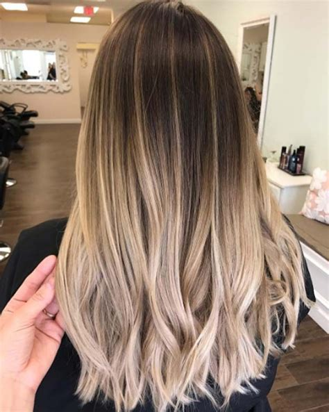 dark brown hair with blonde highlights diy 25 best ideas about dark to light ombre on pinterest