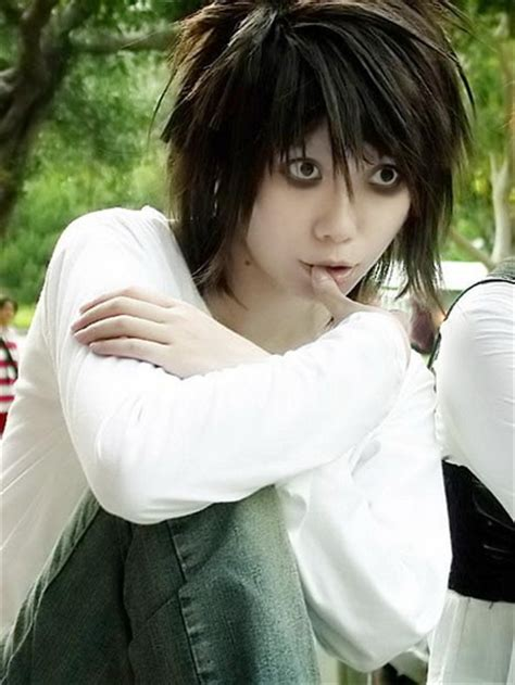 L Death Note Haircut | who would you cosplay as poll results death note fanpop