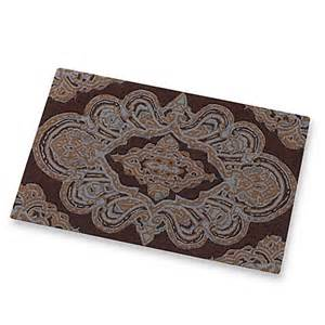 royalton chocolate bath rug by croscill bed bath beyond
