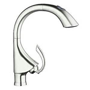 grohe 32071dc0 k4 pull out spray head kitchen faucet amazon com grohe 31380000 k7 medium semi pro kitchen