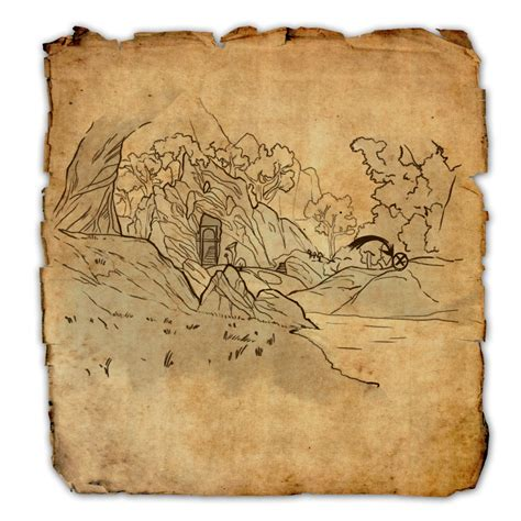 deshaan treasure map deshaan treasure maps elder scrolls wiki