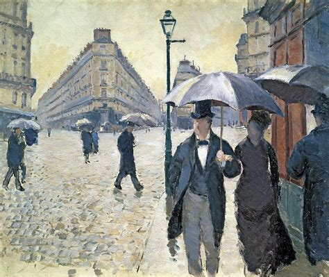 paris a rainy day painting by gustave caillebotte