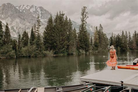 boat ride jenny lake dash of darling jackson hole wyoming vacation itinerary