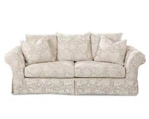 klaussner charleston sofa in renaissance pumice