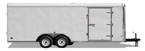 trailer white touch of class trailers silver and black car hauler