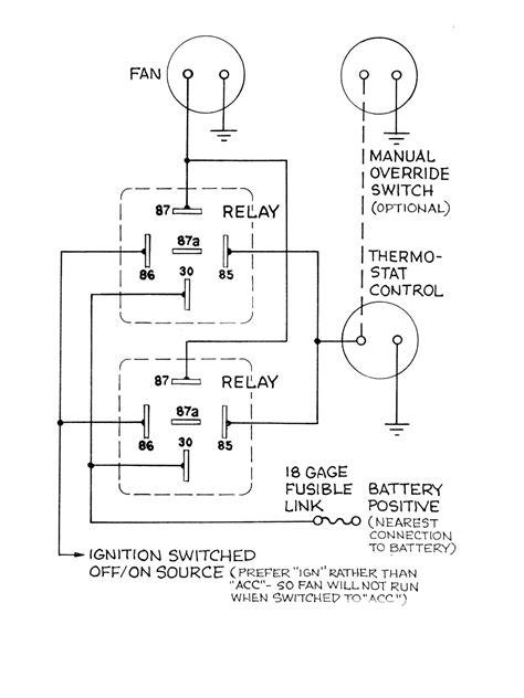 thermo fan wiring diagram efcaviation