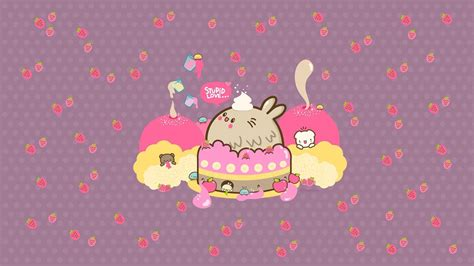 kawaii background kawaii desktop backgrounds wallpaper cave