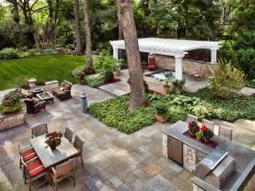 Backyard Layout Gorgeous Outdoor Looks To Steal Outdoor Spaces Patio