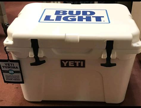 bud light recliner with cooler bud cooler shop collectibles daily