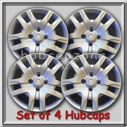 2010 Nissan Sentra Hubcaps 4 16 Quot Silver Bolt On Nissan Sentra Hubcaps Fits 2007 2010