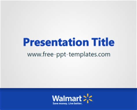 walmart ppt template free powerpoint templates