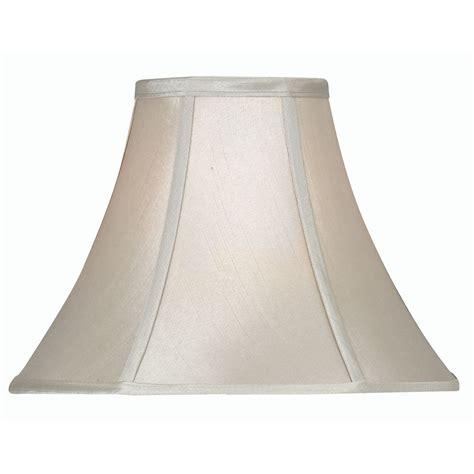 12 inch l shade soft grey faux silk empire l shade 12 inch oaks752 12sg