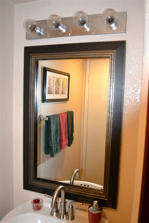 bathroom mirror frame kits bathroom mirror frame mirror frame kit modern black