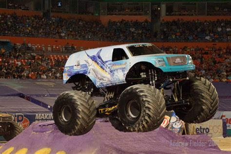 monster truck jam miami miami florida monster jam february 8 2014 hooked