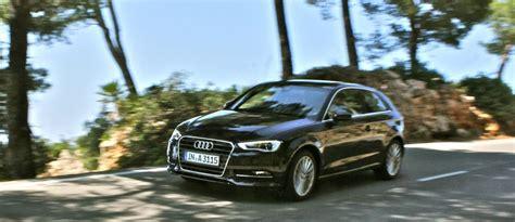 Erster Audi by Erster Fahreindruck Des Neuen Audi A3 8v Driving
