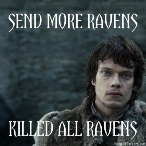 Thrones Meme - game of laughs funny game of thrones meme of theon