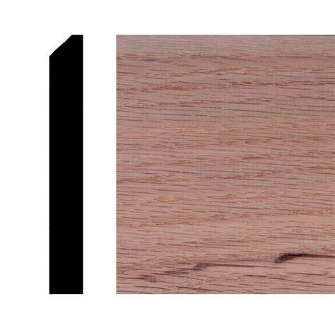 op496 7 16 in x 3 1 4 in oak wood backsplash moulding hdo496 the home depot