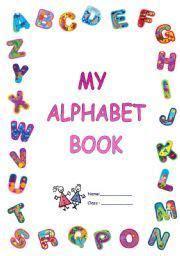 printable abc book template alphabet blocks border school border hands pinterest