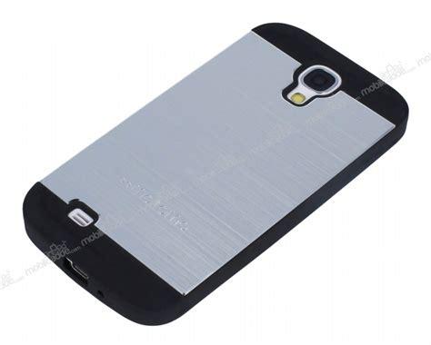 Hardcase Motomo For Samsung Galaxy S4 I9500 motomo samsung i9500 galaxy s4 metal silver silikon k箟l箟f