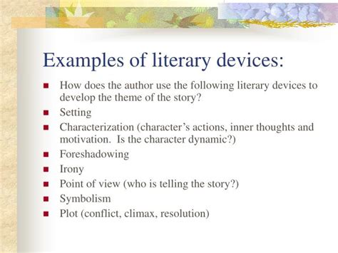 theme literary term powerpoint ppt short story literary analysis powerpoint