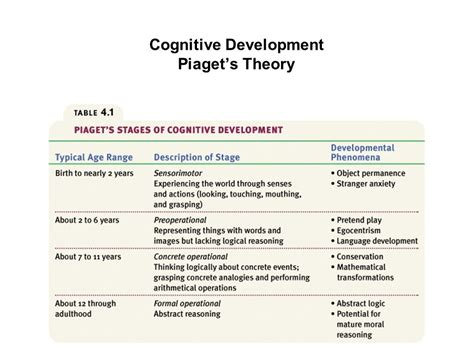 Cognitive Development Theory Developmental Psychology I What Is Behaviourism And How