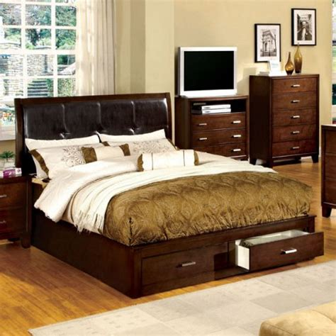 bedroom sets dawson cherry queen size platform look product reviews buy buckingham transitional cottage