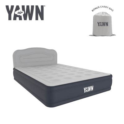 yawn air bed by sleep origins as seen on tv daily