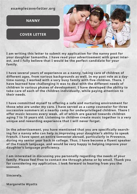 cover letter cover letter for babysitting cover letter for