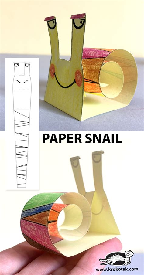 krokotak paper snail