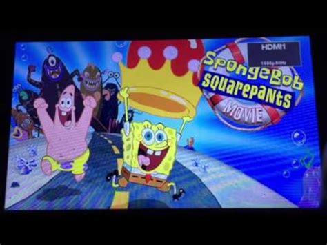 three colours blue film blu youtube opening to the spongebob squarepants movie 2011 blu ray