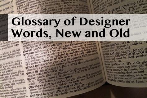other terms for new year glossary of design jargon new part 2 design shack