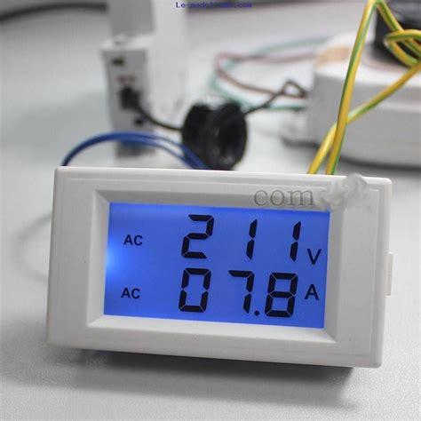 Cooling Kipas Rc 110 100 80 eremetre voltmetre numerique ecran lcd voltmetre