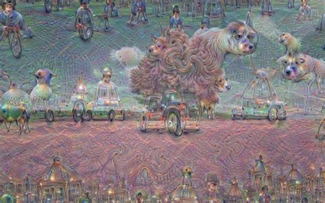 Likecom Searching Visually by S Ai On Lsd What A Robot S Dreams Look Like