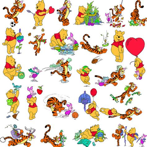 126 Best Images About Winnie The Pooh On Disney Rabbit Costume And Christopher Sale 126 Winnie The Pooh Digital Clipart Printable Pictures Tigger Piglet Burro Eeyore