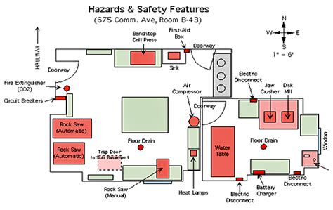 Sink Floor Plan by Security And Safety In Laboratories Wbdg Whole Building