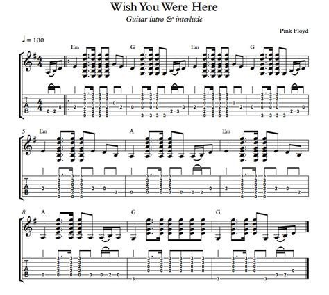 strumming pattern mother pink floyd wish you were here by pink floyd includes guitar intro