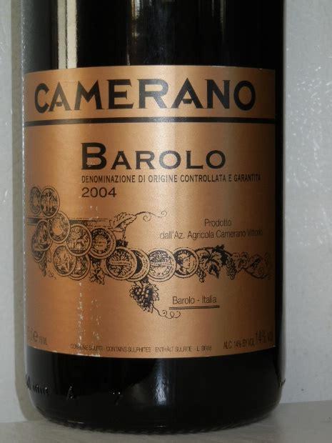 camerano barolo 2006 camerano barolo italy piedmont langhe barolo
