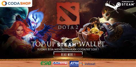 Codashop Dota 2 | codashop pembelian voucher steam tercepat di indonesia