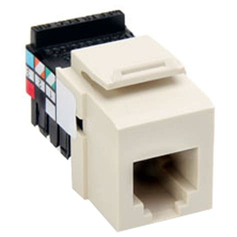 leviton quickport rj11 voice grade connector