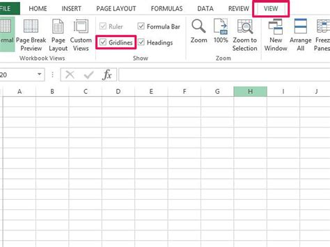 excel grid layout how to remove grid lines in excel techwalla com