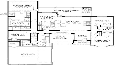 Open Floor Plan Farmhouse Plans by Modern Open Floor Plans Open Floor Plan House Designs