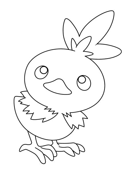 Torchic Coloring Pages Coloring Pages Torchic Coloring Pages