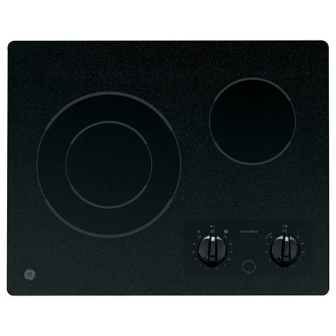 Ge Electric Cooktop Shop Ge Smooth Surface Electric Cooktop Black Common