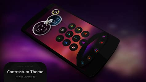 next launcher themes cracked next launcher theme contrastum top apps and games collection