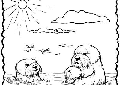 Pb J Coloring Pages by Josh The Otter Coloring Pages Coloring Page