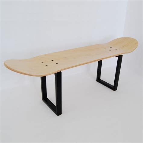 skater christmas gift skateboard deck stool legs coffee table