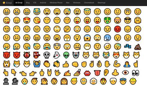 emoji for windows emoji blog new emojis in windows 10 anniversary update